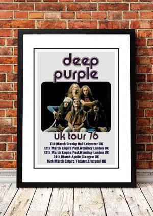 Deep Purple 'UK Tour' 1976