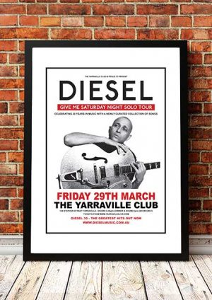 Diesel 'Yarraville Club' Melbourne, Australia 2020