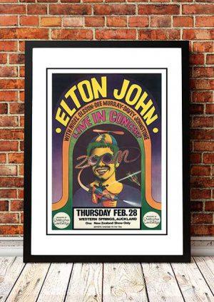 Elton John 'Western Springs' Auckland, NZ 1971