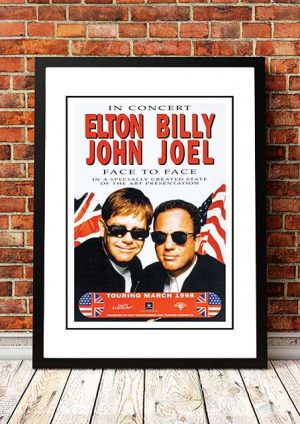 Elton John / Billy Joel 'Face To Face' Australian Tour 1998