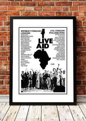 Live Aid 'Magazine Advert' 1985