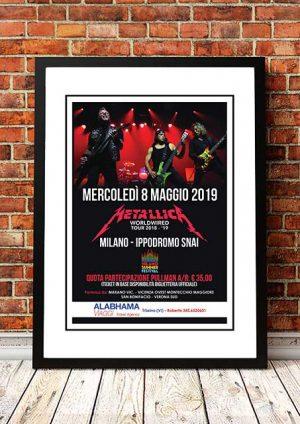 Metallica 'Worldwired' Milan, Italy 2019