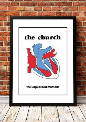 The Church 'Unguarded Moment' In Store Poster 1981