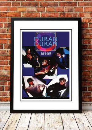 Duran Duran 'Arena' In Store Poster 1985
