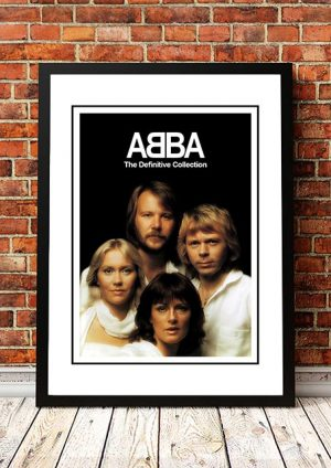 ABBA 'The Definitive Collection' In Store Poster 2001