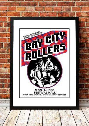 Bay City Rollers 'Festival Hall' Melbourne, Australia 1976