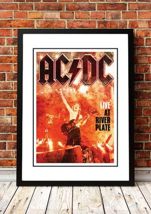AC/DC 'Live At River Plate' In Store Poster 2012