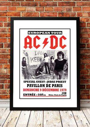 AC/DC / Judas Priest 'Pavillon De Paris' Paris, France 1979