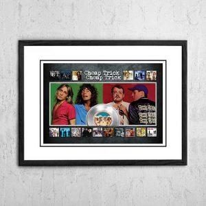 Cheap Trick 'Albums' Promo Poster 2009