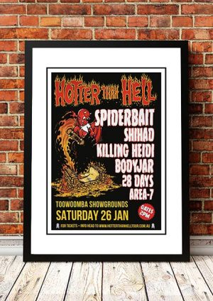 Spiderbait / Killing Heidi 'Hotter Than Hell Festival' Australia 2019