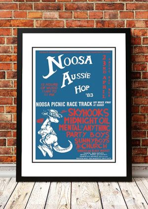 Skyhooks / Midnight Oil 'Noosa Aussie Hop Festival' Australia 1983