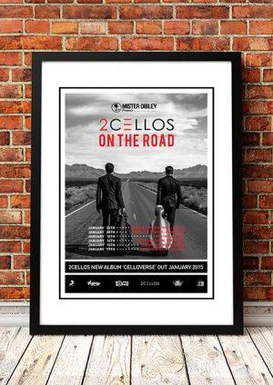 2 Cellos 'Celloverse' Australian Tour 2015