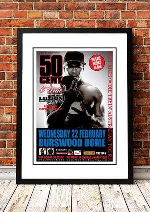 50 Cent 'Burswood Dome' Perth, Australia 2011