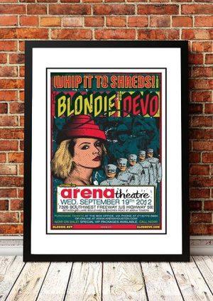 Blondie / Devo 'Whip It To Shreds' Texas, USA 2012
