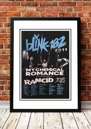Blink 182 / My Chemical Romance 'US Tour' 2011