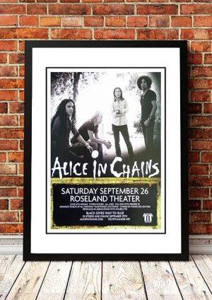 Alice In Chains 'Roseland Theatre' Portland, USA 2009