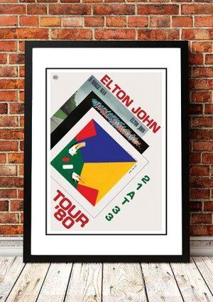 Elton John 'Australian Tour' 1980