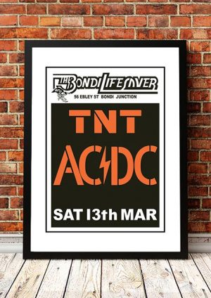 AC/DC 'Bondi Lifesaver' Sydney, Australia 1975