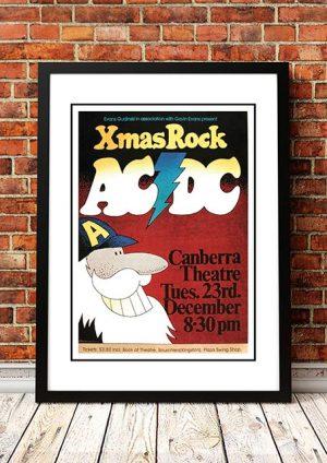 AC/DC 'Xmas Rock' Canberra, Australia 1975