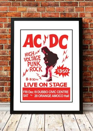 AC/DC 'High Voltage' Dubbo/Orange, Australia 1975
