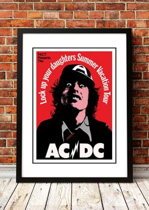 AC/DC 'Lock Up Your Daughters Summer Vacation Tour' Australia 1975
