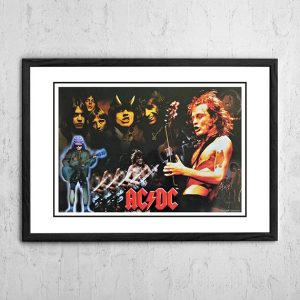 AC/DC 'Montage' Poster