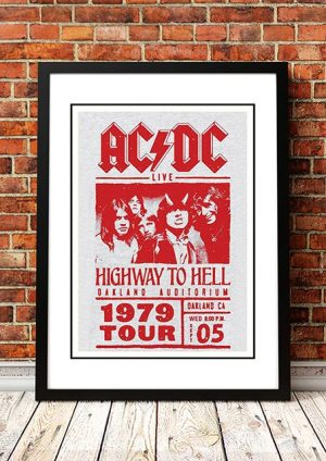 AC/DC 'Oakland Auditorium' California, USA 1979