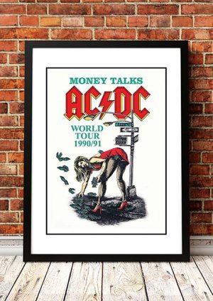 AC/DC 'Money Talks' World Tour 1990/91