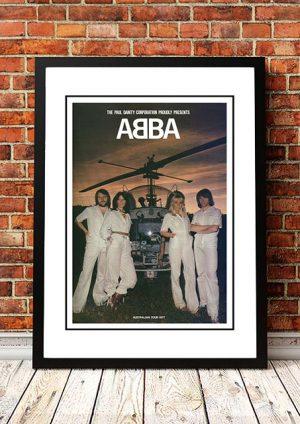 Abba 'Australian Tour' In Store 1977