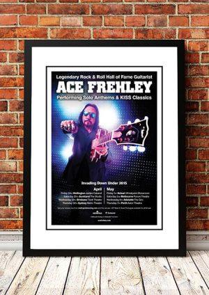Ace Frehley (Kiss) 'Invading Down Under' Australian Tour 2015