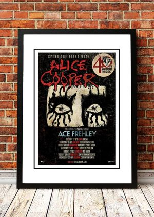 Alice Cooper / Ace Frehley '40th Anniverary' Australian Tour 2017