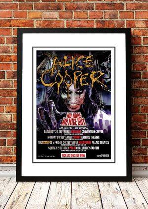 Alice Cooper 'No More Mr Nice Guy' Australian Tour 2011