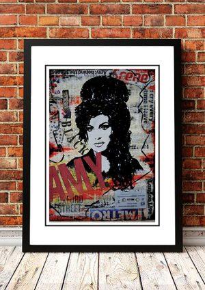 Amy Winehouse 'Art' Poster
