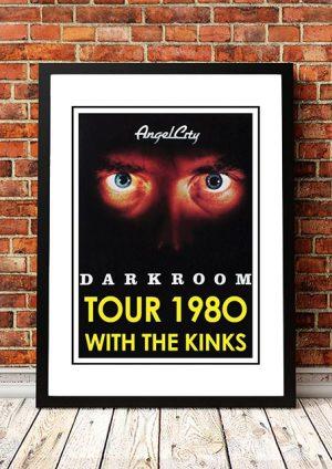Angel City (The Angels) / The Kinks 'Darkroom' USA Tour 1980