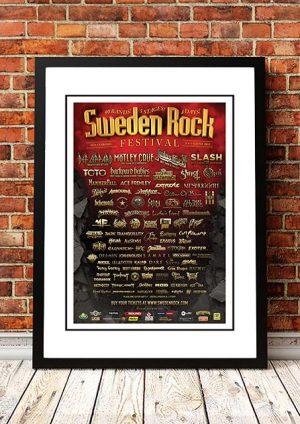 The Angels / Def Leppard / Motley Crue 'Sweden Rock Festival' Solvsborg, Sweden 2015