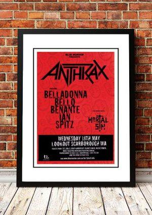 Anthrax / Mortal Sin 'Lookout Scarborough' Perth, Australia 2005
