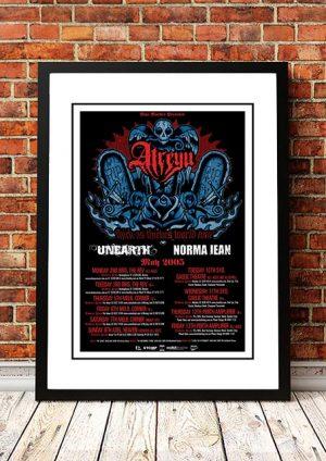 Atreyu 'Thick As Thieves' Australian Tour 2005