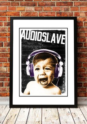 Audioslave 'In Store' Promotional Poster 2016