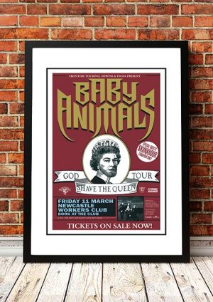Baby Animals 'God Shave The Queen' Newcastle, Australia 1994