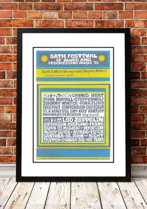 Bath Festival Of Blues' Bath, UK 1970