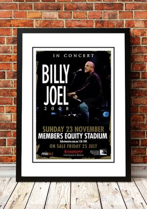 Billy Joel 'Members Equity Stadium' Perth, Australia 2008