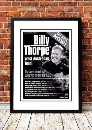 Billy Thorpe 'West Australian Tour' 2006