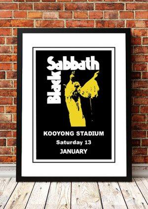 Black Sabbath 'Kooyong Stadium' Melbourne, Australia 1973