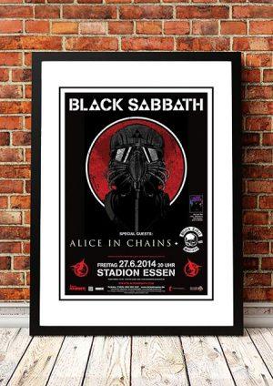 Black Sabbath 'Stadion Essen' Essen, Germany 2014