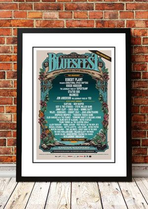 Robert Plant / Status Quo / Madness 'Bluesfest Music Festival' Byron Bay Australia 2013