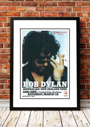 Bob Dylan 'Football Park' Adelaide, Australia 1978
