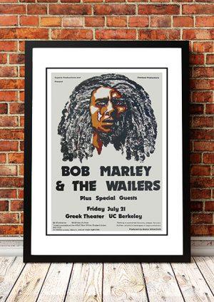 Bob Marley 'Greek Theatre' California, USA 1978