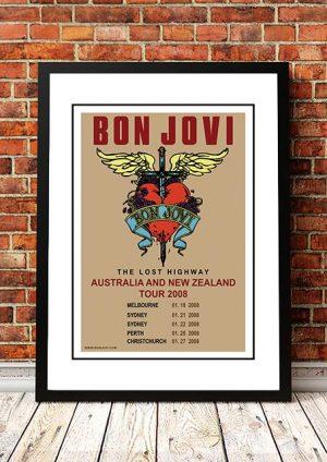 Bon Jovi 'Australian / NZ Tour' 2008