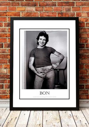 AC/DC / Bon Scott 'Swallows' Altona North, Australia 1975