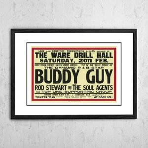 Buddy Guy / Rod Stewart And The Faces 'Ware Drill Hall' Hertfordshire, UK 1965